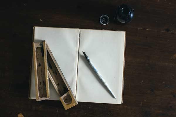 l'angoisse de la page blanche de l'écrivain amateur
